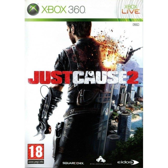 Игра Just Cause 2 (Xbox 360) (eng)