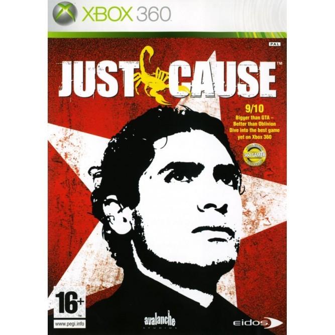 Игра Just Cause (Xbox 360) б/у