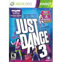 Игра Just Dance 3 (Только для Kinect) (Xbox 360) б/у