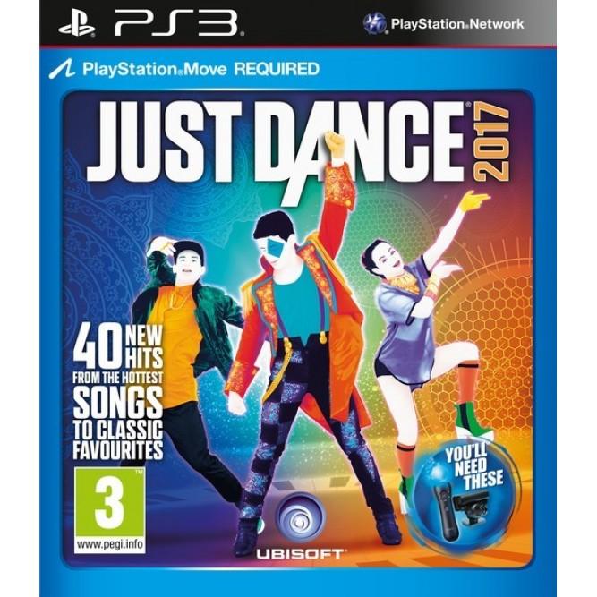 Игра Just Dance 2017 (Только для Move) (PS3) б/у (rus)