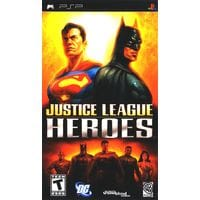 Игра Justice League Heroes (PSP) б/у (eng)