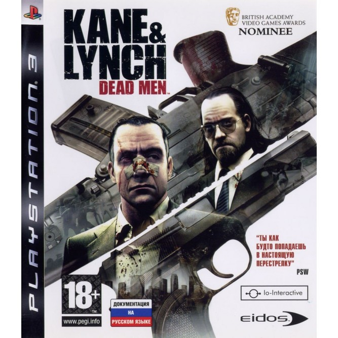 Игра Kane and Lynch: Dead Men (PS3) б/у