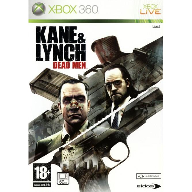 Игра Kane & Lynch: Dead Men (Xbox 360) б/у