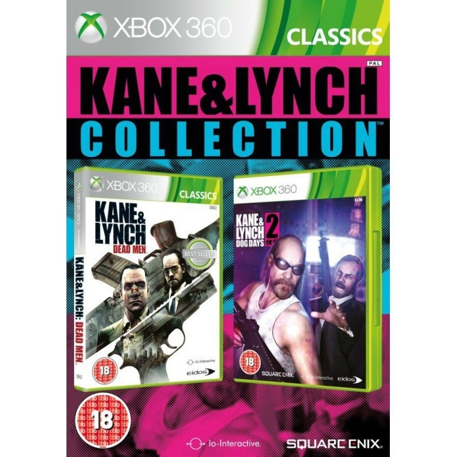 Игра Kane and Lynch Collection (Xbox 360)