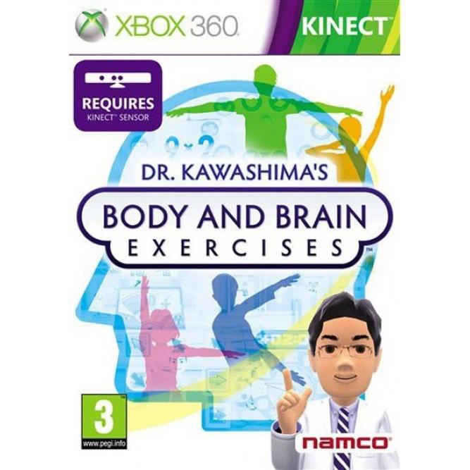 Игра Dr. Kawashima's Body and Brain Exercises (Только для Kinect) (Xbox 360)