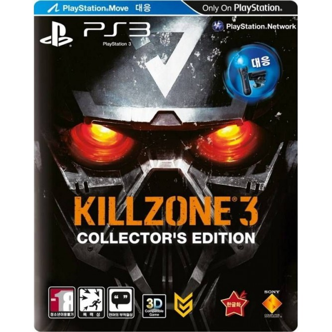 Игра Killzone 3. Collector's Edition (Steelbook) (PS3) б/у (rus)