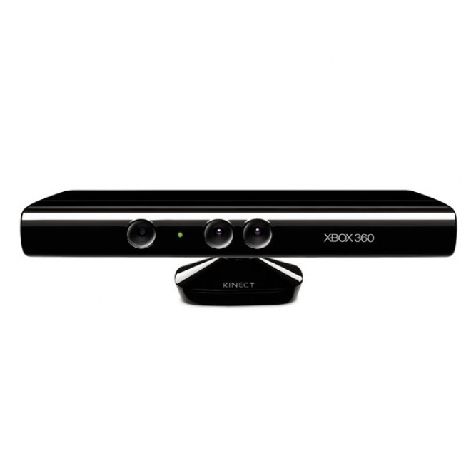 Контроллер Kinect (Xbox 360) черный, б/у