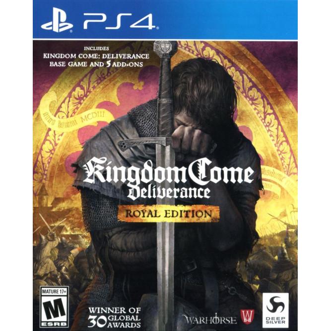 Игра Kingdom Come: Deliverance (Royal Edition) (PS4) (rus sub) б/у