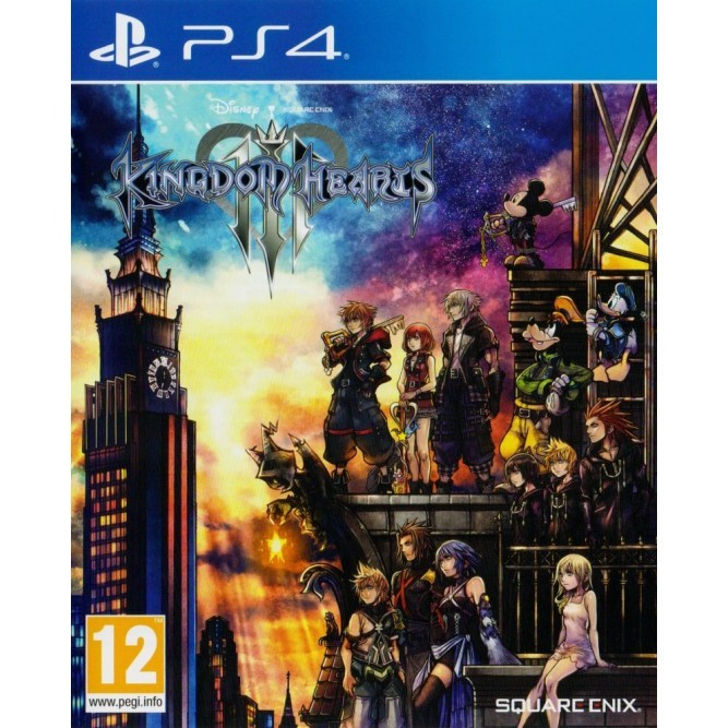 Игра Kingdom Hearts 3 (PS4) (eng)