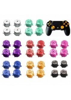 """Комплект из 4 металлических кнопок """"Пуля"""" для DualShock 4"""