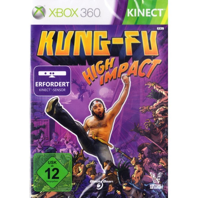 Игра Kinect Kung Fu: High Impact (Xbox 360) б/у (eng)
