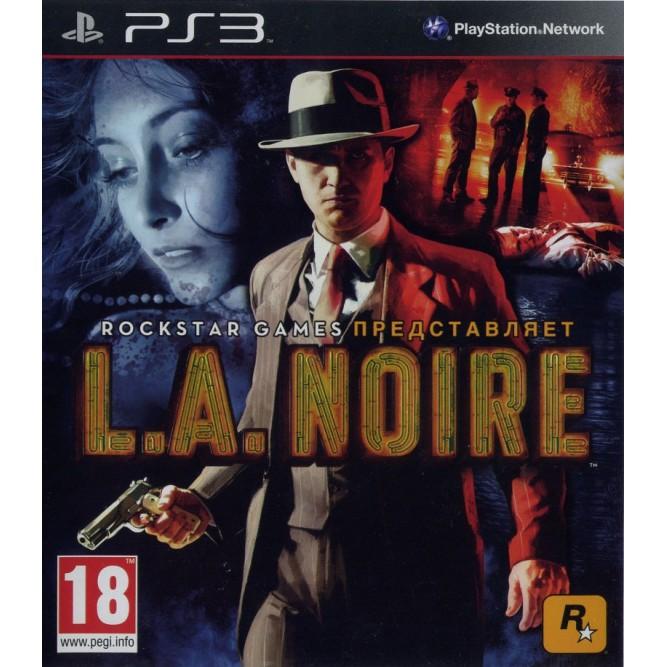 Игра LA Noire (PS3) б/у