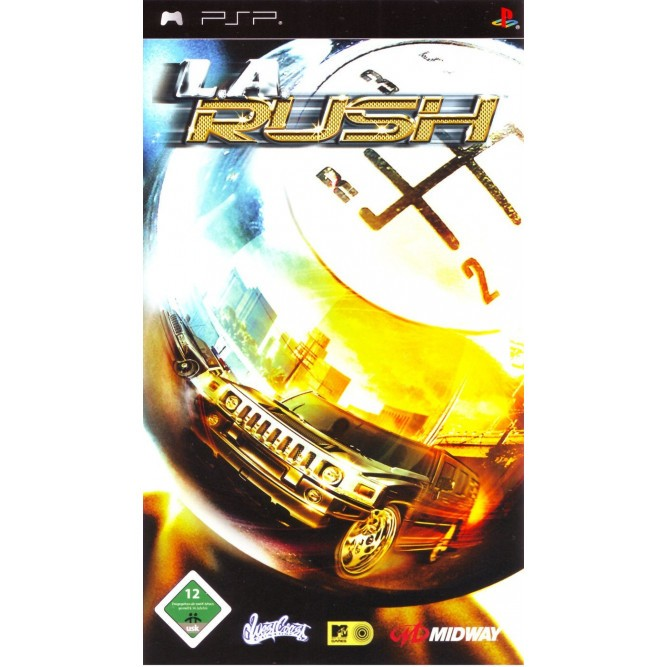 Игра L.A. Rush (PSP) б/у