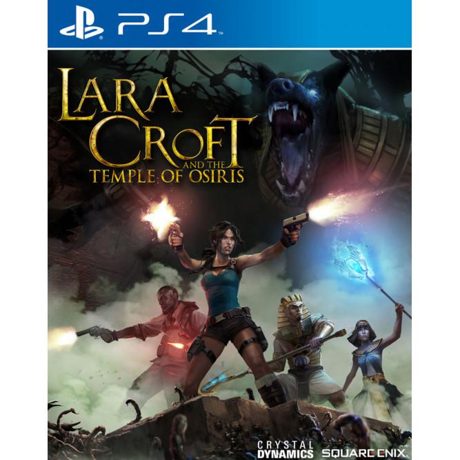 Игра Lara Croft and the Temple of Osiris (PS4) (rus sub) б/у