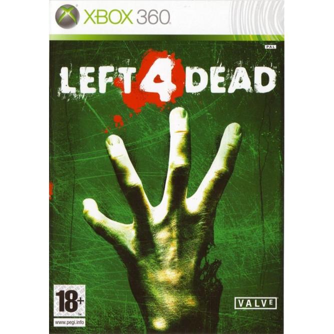 Игра Left 4 Dead (Xbox 360) б/у