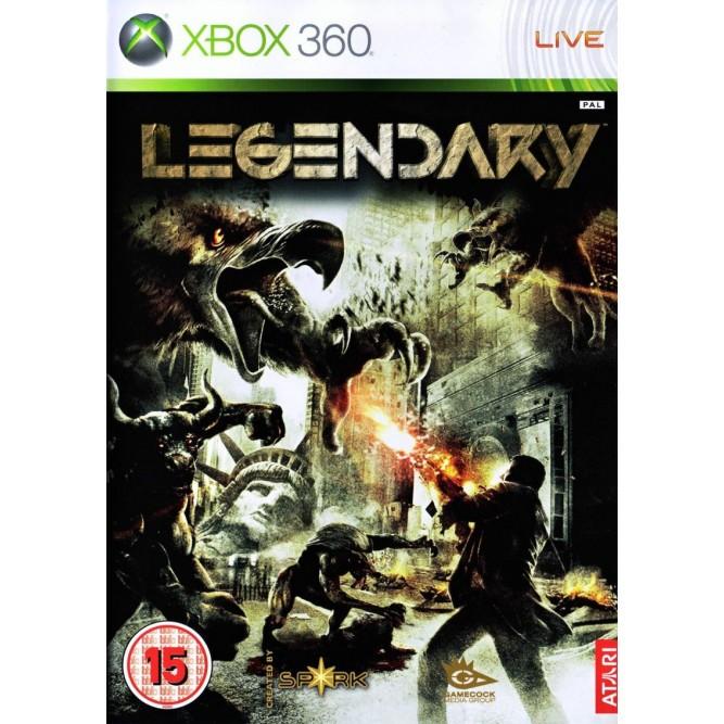 Игра Legendary (Xbox 360) б/у (eng)