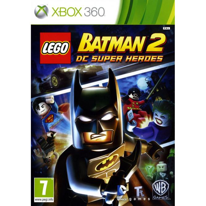 Игра LEGO Batman 2: DC Super Heroes (Xbox 360) б/у