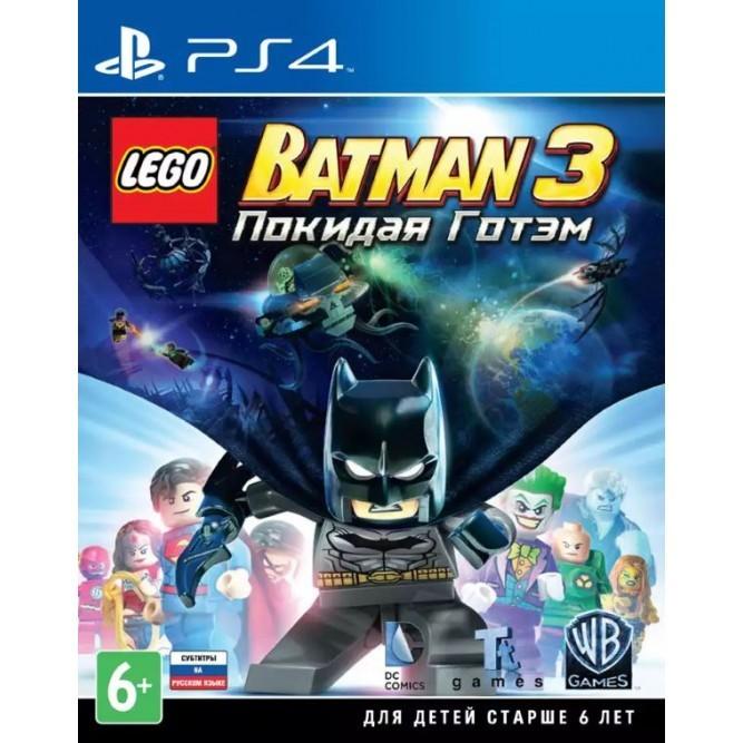 Игра LEGO Batman 3: Покидая Готэм (PS4) б/у