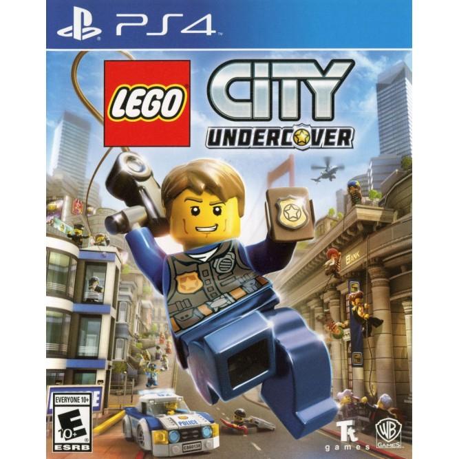 Игра LEGO City Undercover (PS4) (rus)