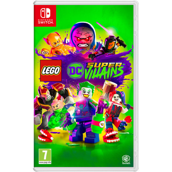 Игра LEGO DC Super-Villains (Nintendo Switch) (rus)