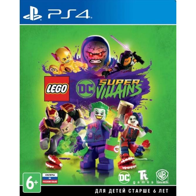 Игра LEGO DC Super-Villains (PS4) (rus sub)
