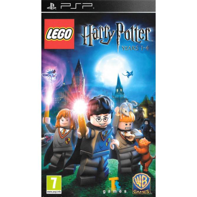 Игра LEGO Harry Potter: Years 1–4 (LEGO Гарри Поттер: Годы 1-4) (PSP) (eng) б/у
