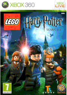 Игра LEGO Harry Potter: Years 1–4 (LEGO Гарри Поттер: Годы 1-4) (Xbox 360) б/у