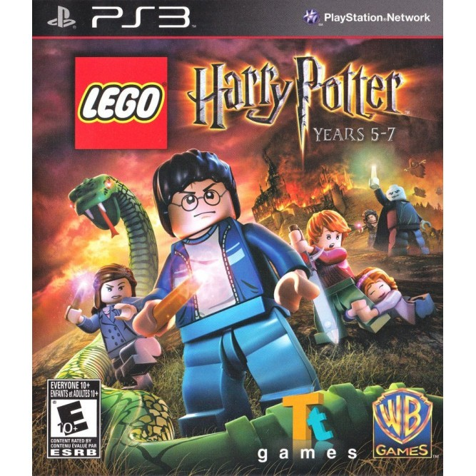 Игра LEGO Harry Potter: Years 5–7 (LEGO Гарри Поттер: Годы 5-7) (PS3) б/у (rus sub)