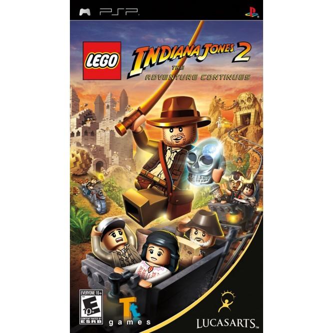 Игра LEGO Indiana Jones 2: The Adventure Continues (PSP) б/у