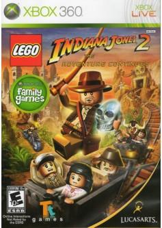 Игра LEGO Indiana Jones 2: The Adventure Continues (Xbox 360) б/у