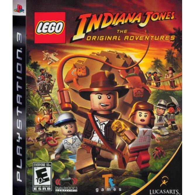 Игра LEGO Indiana Jones: The Original Adventures (PS3) б/у