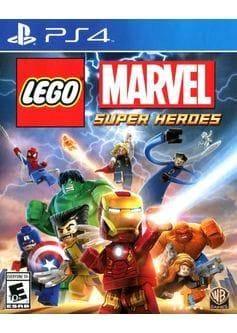 Игра LEGO Marvel Super Heroes (PS4)