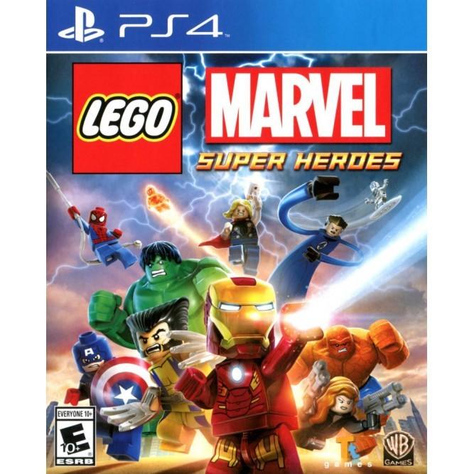 Игра LEGO Marvel Super Heroes (PS4) б/у (rus doc)