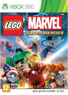 LEGO Marvel Super Heroes (Xbox 360) б/у (rus sub)