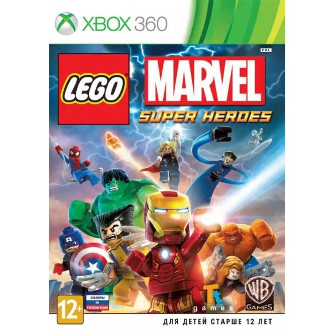 Игра LEGO Marvel Super Heroes (Xbox 360) б/у (rus sub)