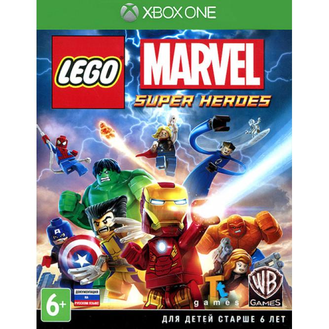 Игра LEGO Marvel Super Heroes (LEGO Marvel Супергерои) (Xbox One) (rus sub) б/у