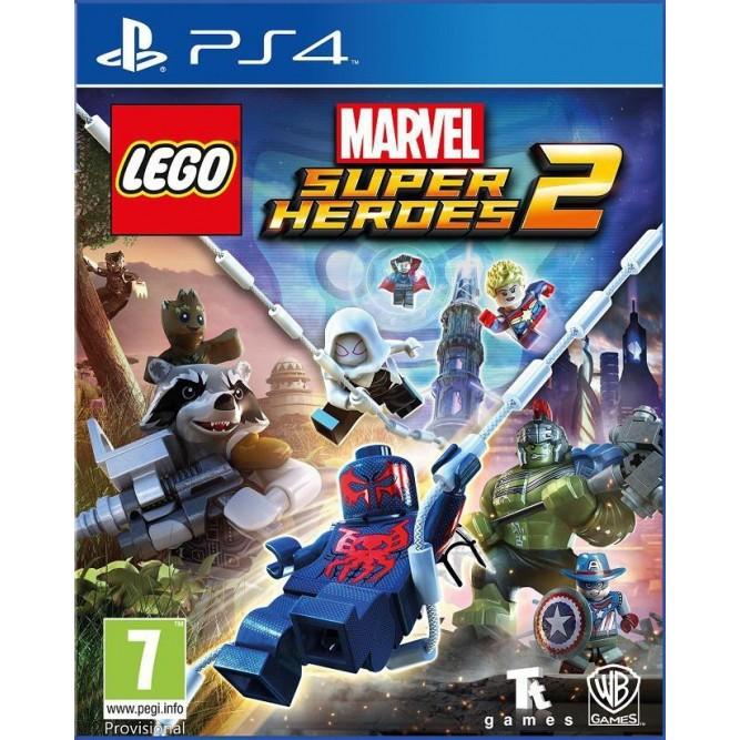 Игра LEGO Marvel Super Heroes 2 (LEGO Marvel Супергерои 2) (PS4) б/у (rus sub)