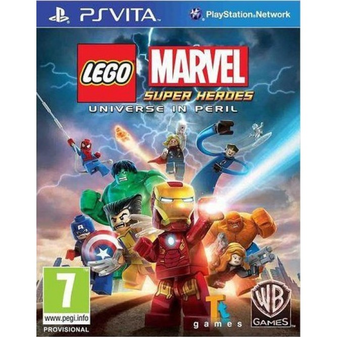 Игра LEGO Marvel Super Heroes: Universe in Peril (PS Vita)