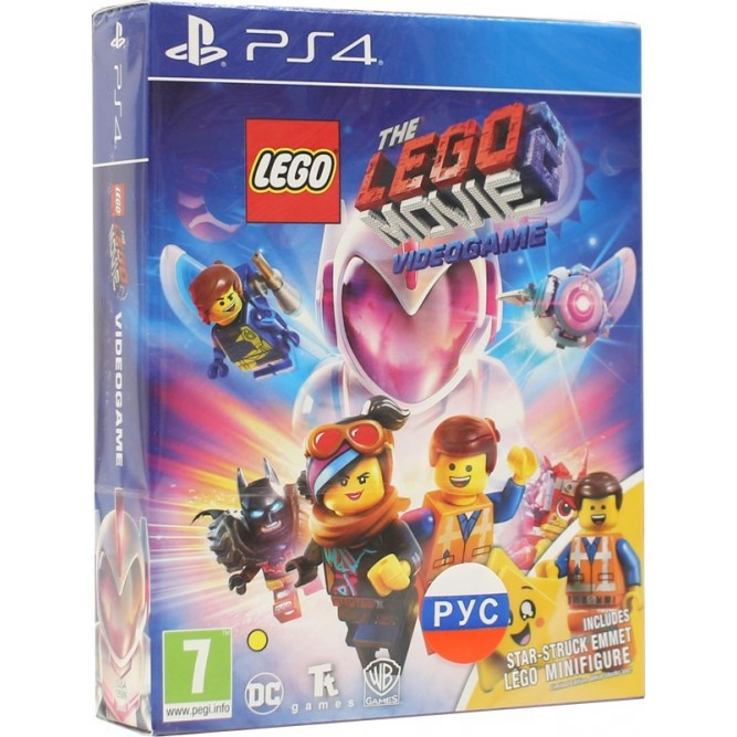 Игра LEGO Movie 2 Videogame - Minifigure Edition (PS4) (rus sub)