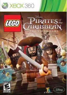 LEGO Пираты Карибского моря (Xbox 360) б/у