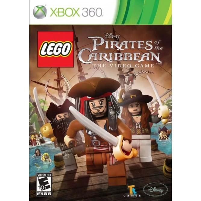 Игра LEGO Пираты Карибского моря (Xbox 360) б/у