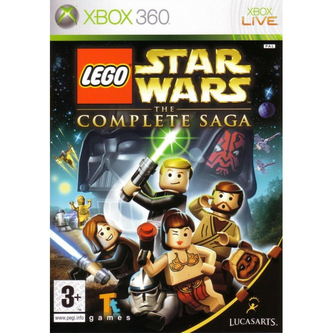 Игра LEGO Star Wars: The Complete Saga (Xbox 360) (eng)