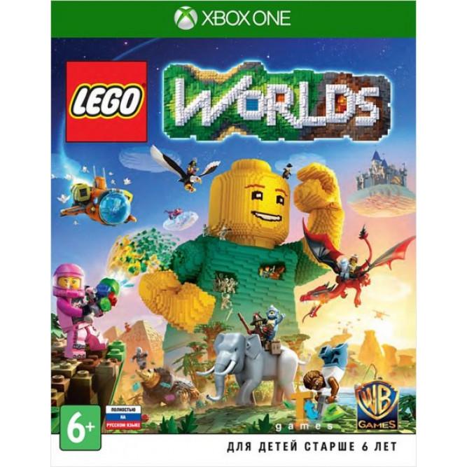 Игра LEGO Worlds (Xbox One) (rus) б/у