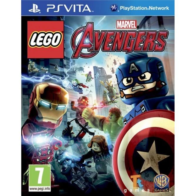 Игра Lego Marvel Avengers (PS Vita) (rus sub)