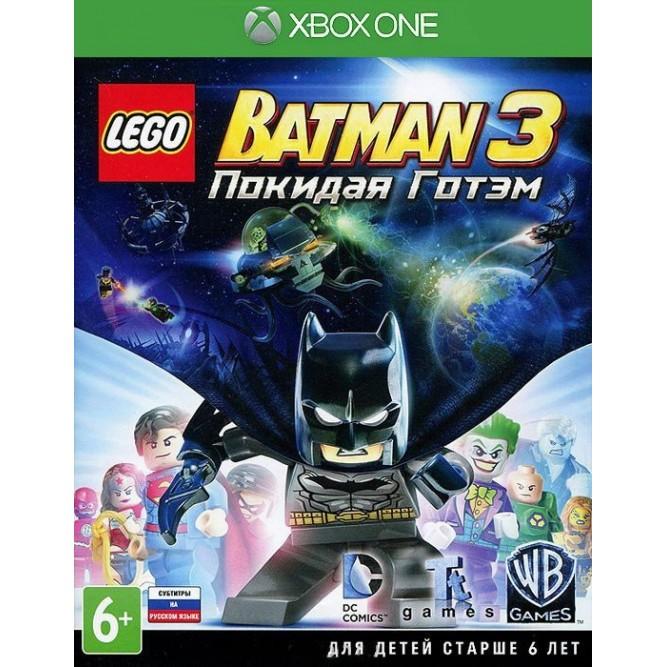 Игра LEGO Batman 3: Покидая Готэм (Xbox One) (rus sub) б/у