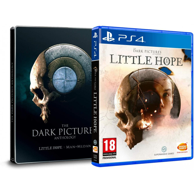 Игра The Dark Pictures: Little Hope (Steelbook Edition Bundle) (PS4) (rus)