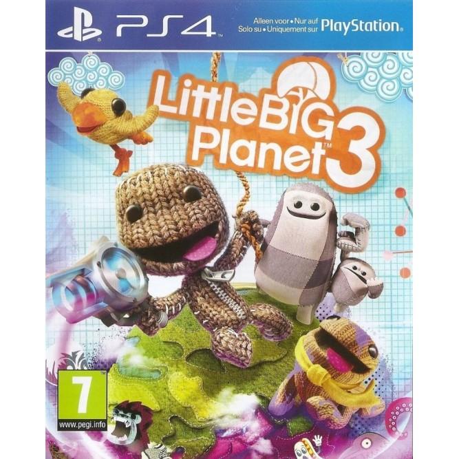 Игра Little Big Planet 3 (PS4) б/у