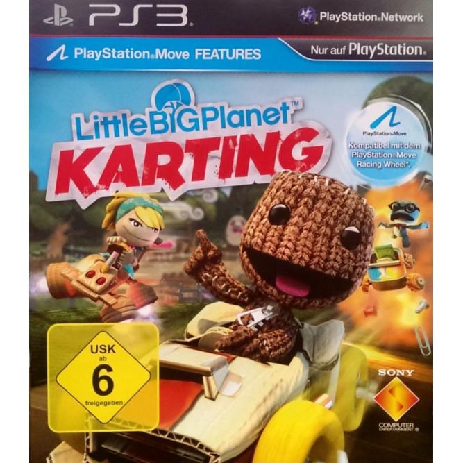 Игра LittleBigPlanet Karting (PS3) б/у