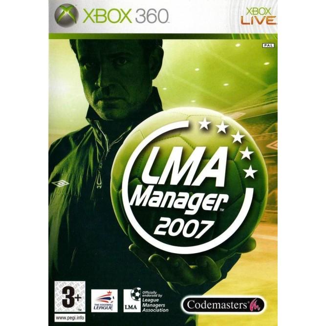 Игра LMA Manager 2007 (Xbox 360) б/у