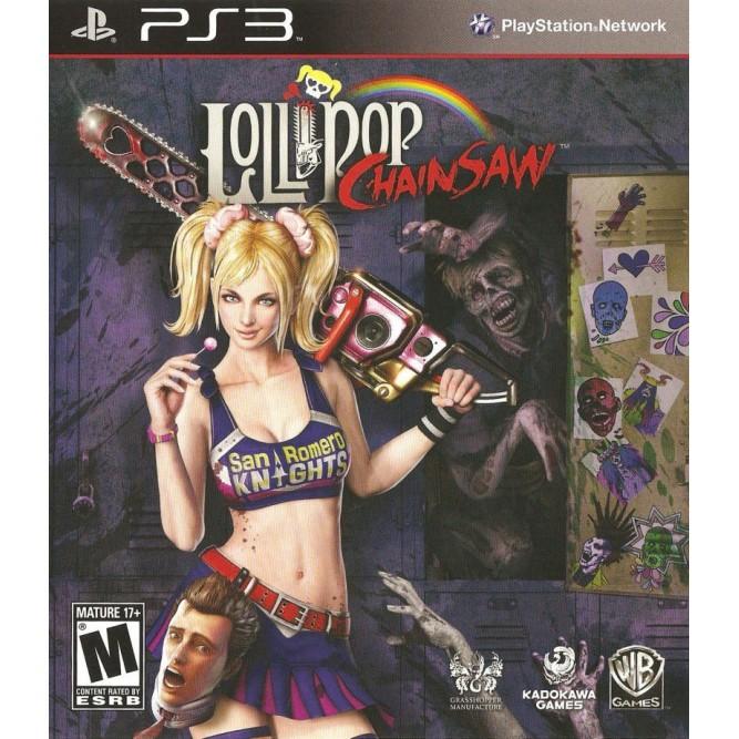 Игра Lollipop Chainsaw (PS3) б/у